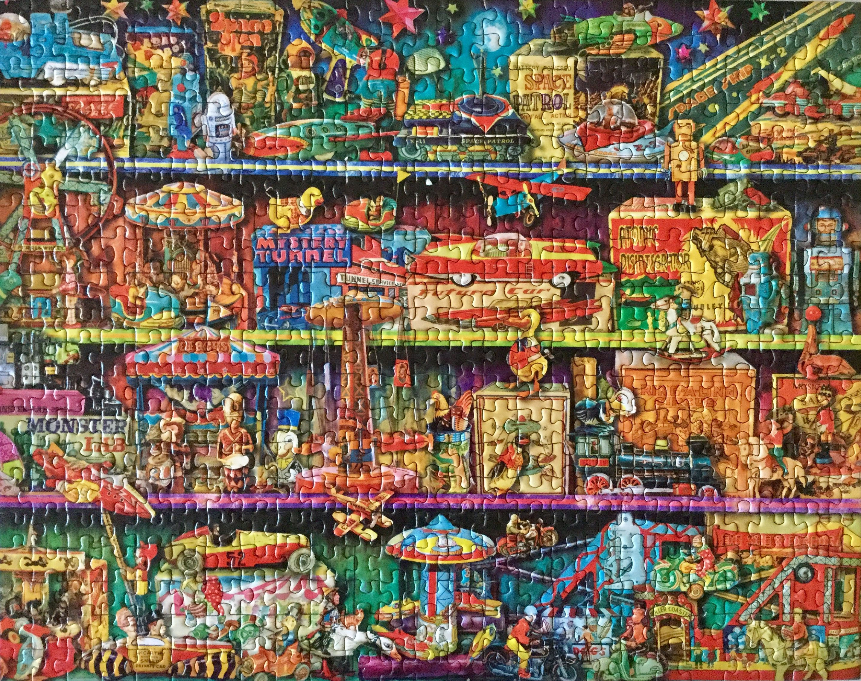 Dollar Tree 500 Piece jigsaw puzzle | Jigsaw puzzles, Color quotes, 500  piece jigsaw puzzles