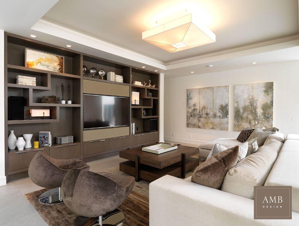 Organic Modern Family Room Designed By Anne Marie Barton