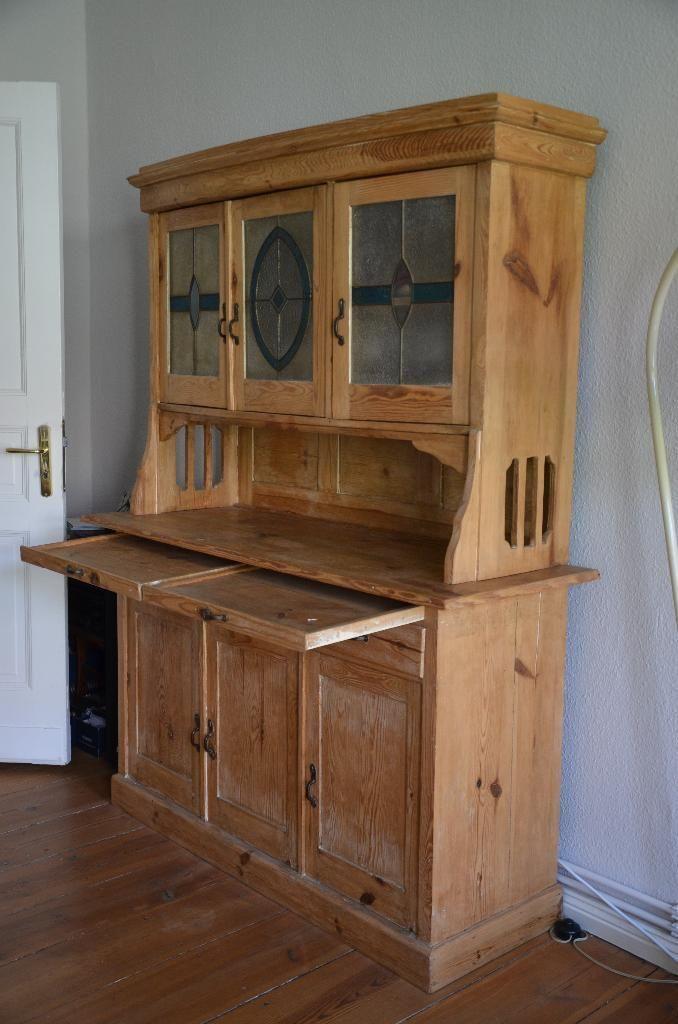 Ich verkaufe einen alten sehr gut erhaltenen Schrank im Landhausstil - Ebay Kleinanzeigen Küchenschrank