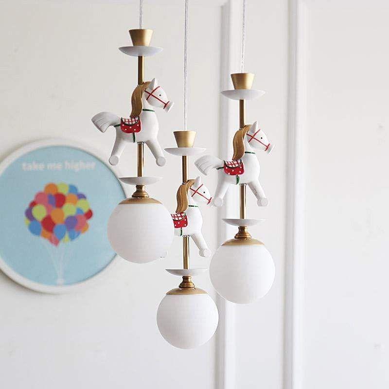 Carousel Chandelier In 2020 Kids Room Lighting Kids Room