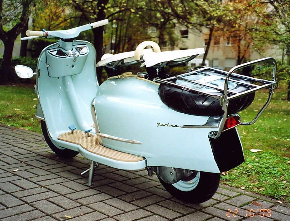 Nsu Prima V Roller Scooter Motorcycle Vehicles Und Vintage