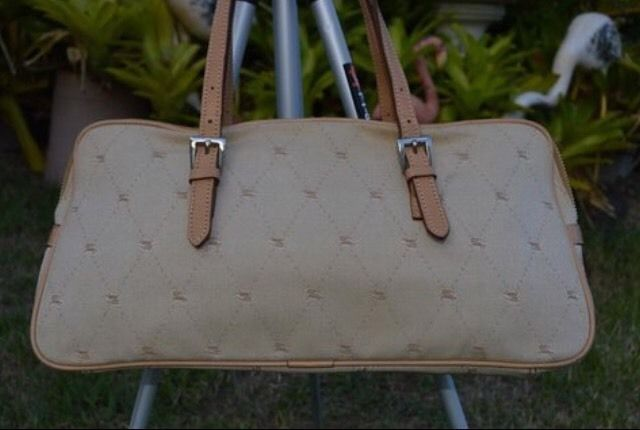 100% Authentic Burberry Blue Label Handbag  50.0  239f401d4a0f4