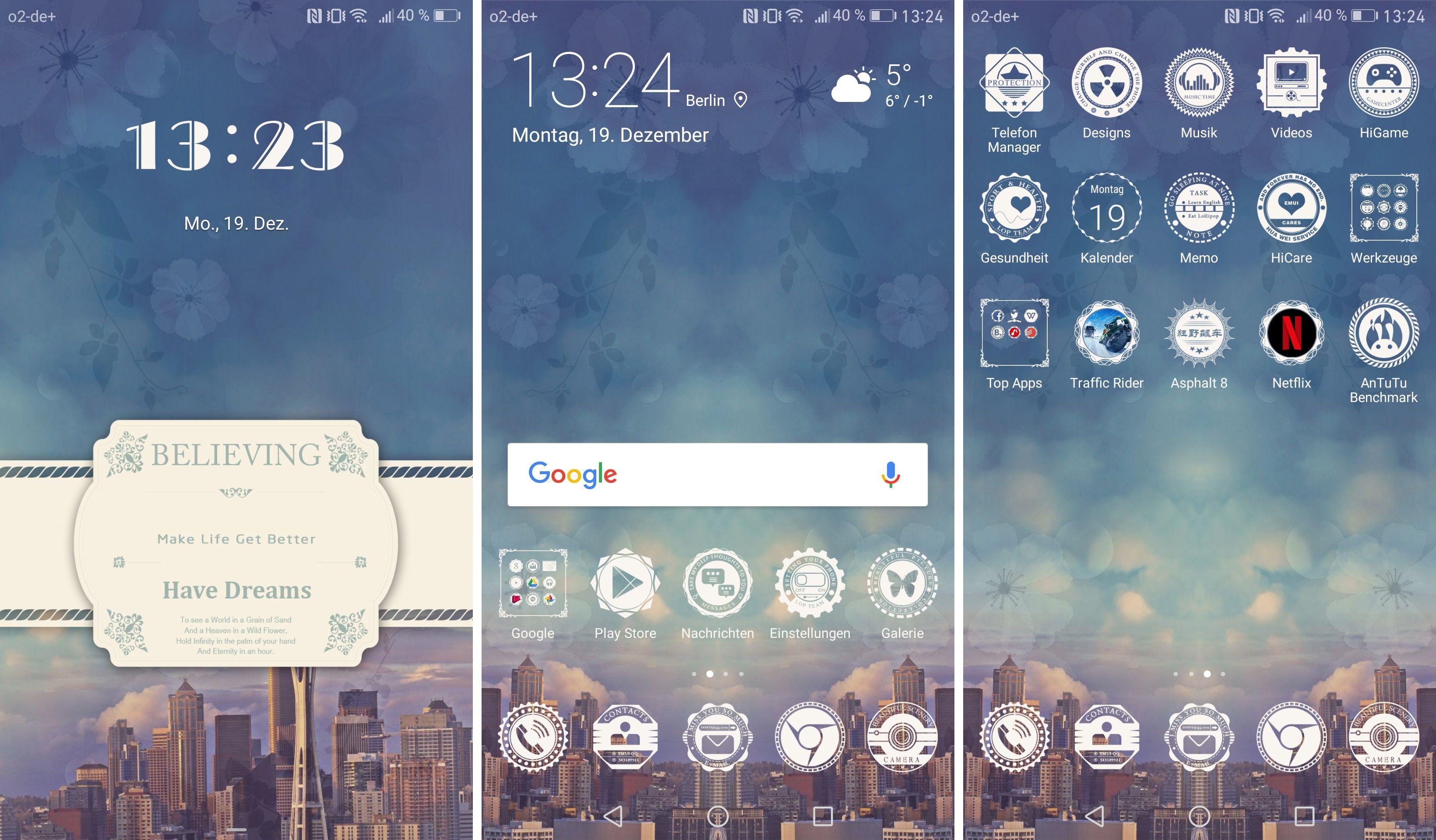 EMUI 5 0 Themes: Die besten Designs für Huawei Mate 9, P9