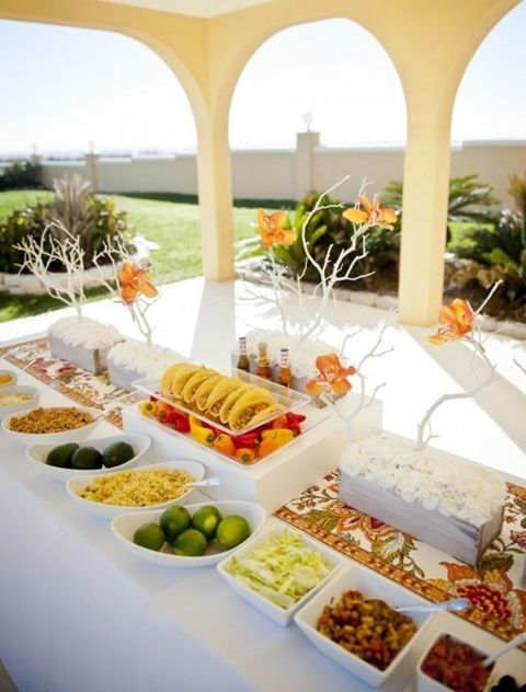 73 Awesome Wedding Food Bars You Ll Love Hywedd