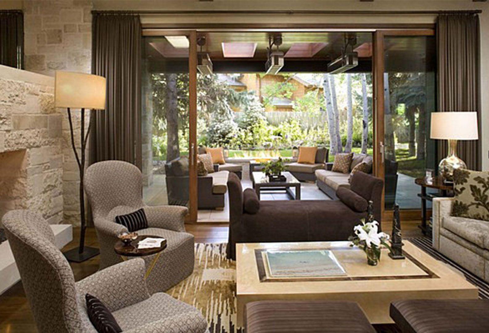 Elegant Living Room   Small living room design, Ranch ...