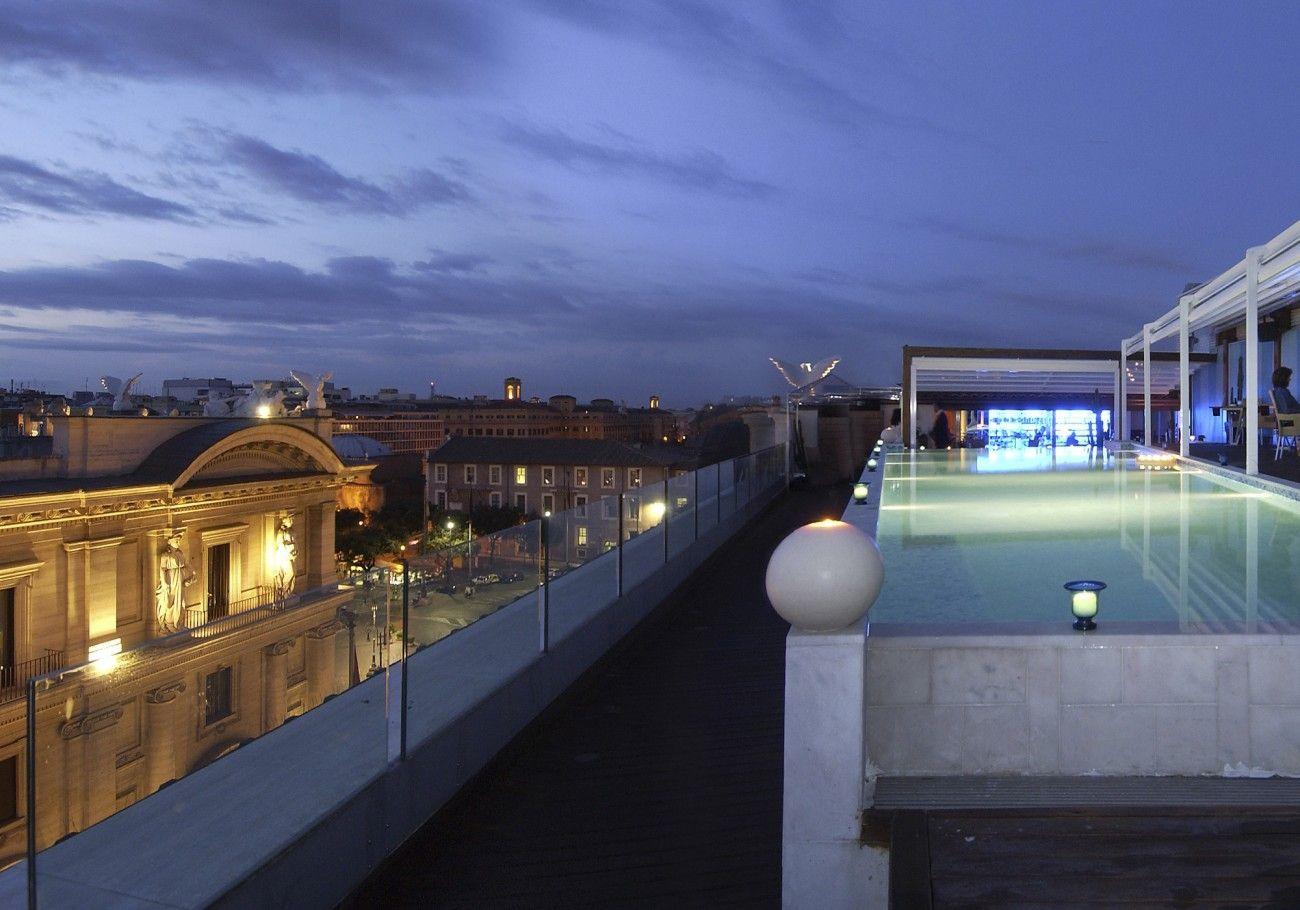Boscolo Exedra Roma | Italian 5 Star Restaurant, Bar, Champagnerie- Gandolfini's last meal