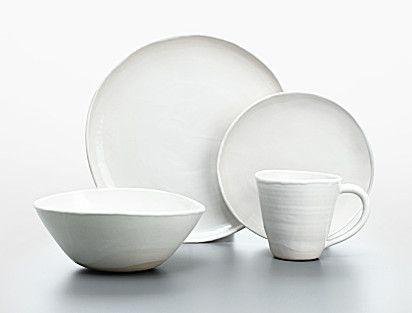 sofia white dinner plate - Calvin Klein  sc 1 st  Pinterest & sofia white dinner plate - Calvin Klein | Dreamy Kitchen | Pinterest ...