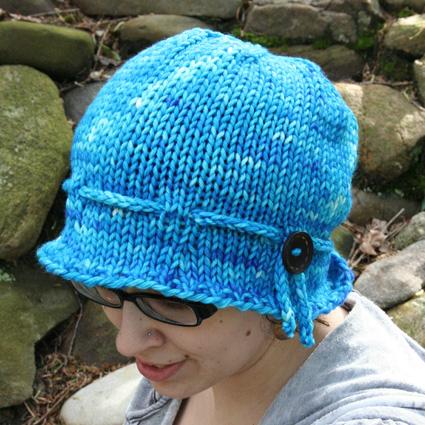 Free Knitting Pattern - Hats: Ida Cloche