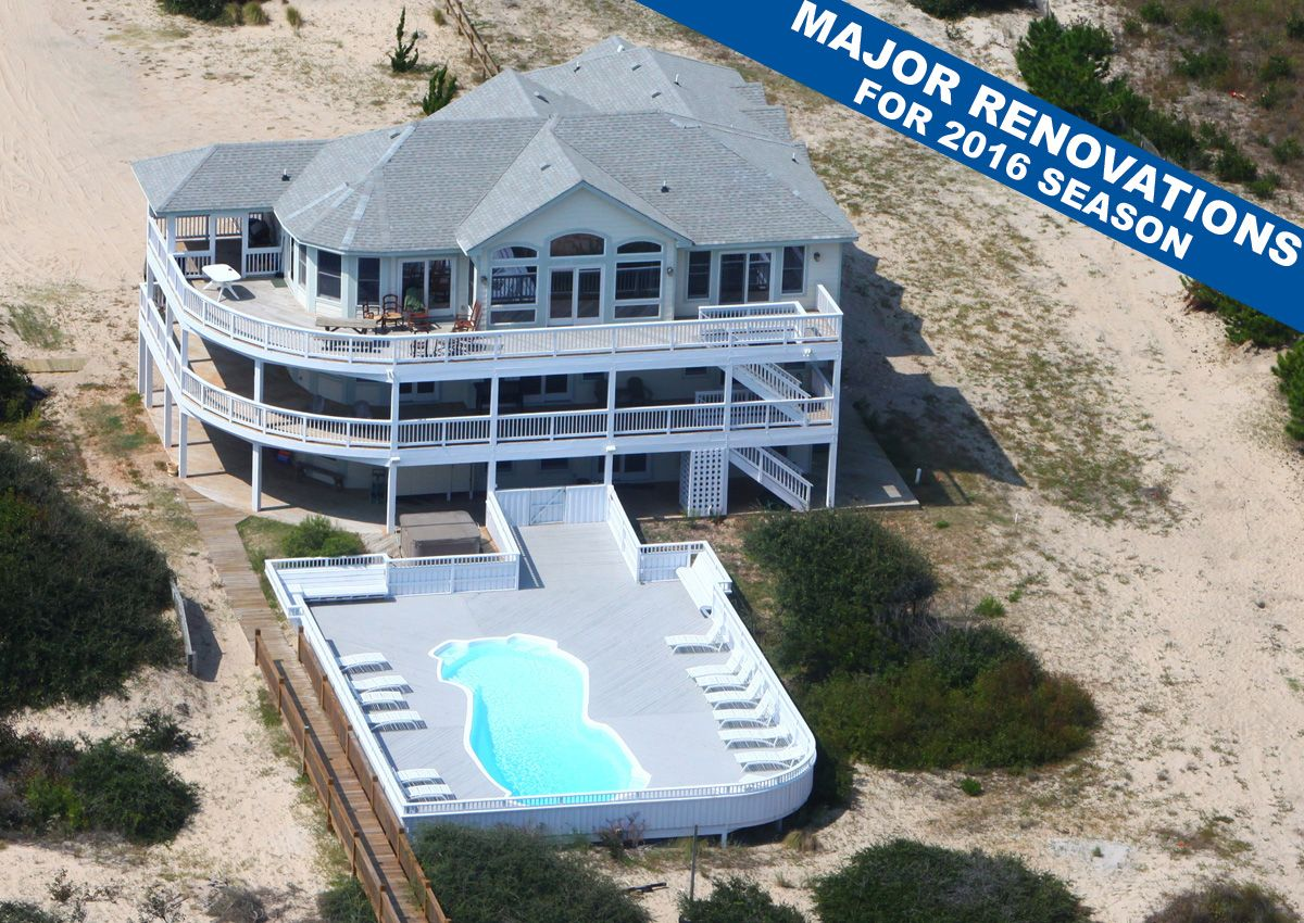 vacation nc dynasty duck realty atlantic outer banks rentals cottage