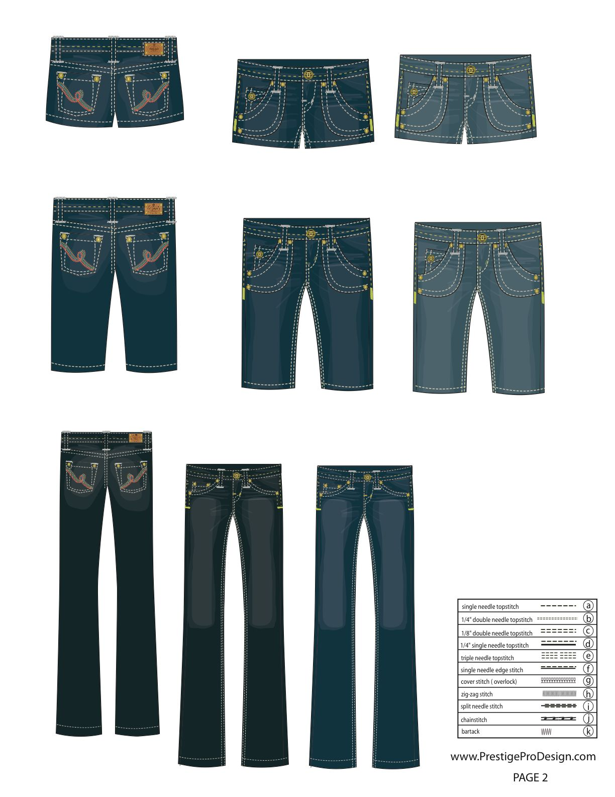 illustrator fashion templates free_Jeans | technical drawing ...
