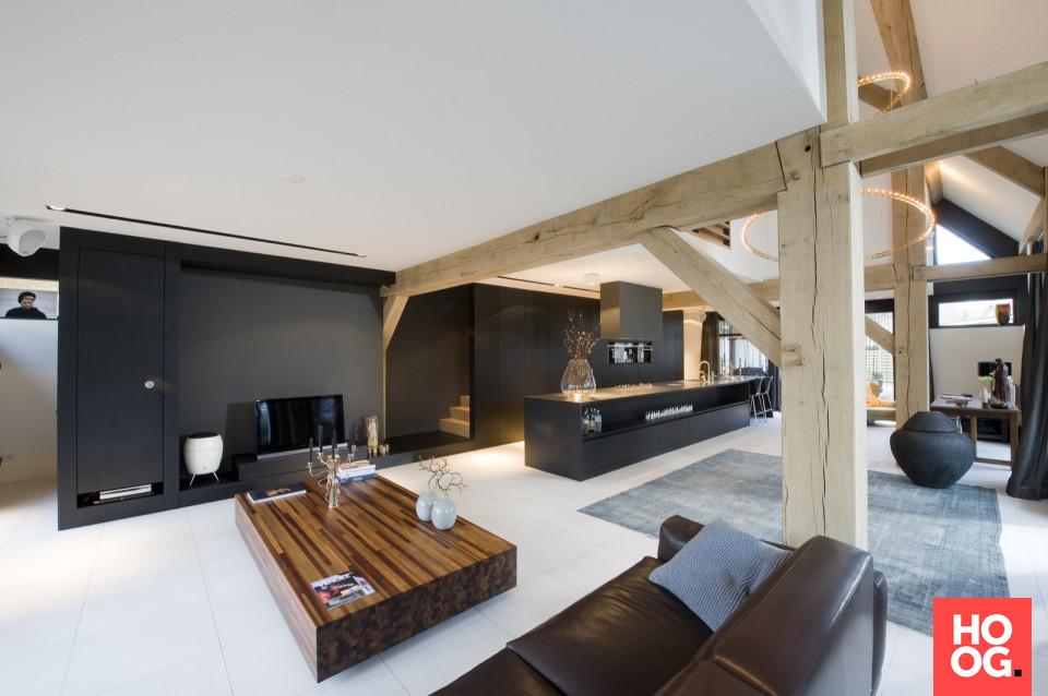 Exclusief woonkamer en keuken design | woonkamer ideeën | living ...