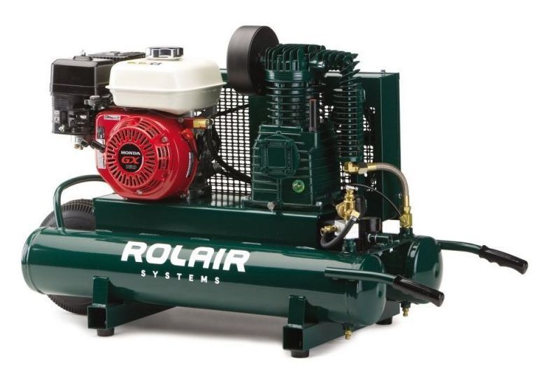 Gas Powered Air Compressor For Service Truck