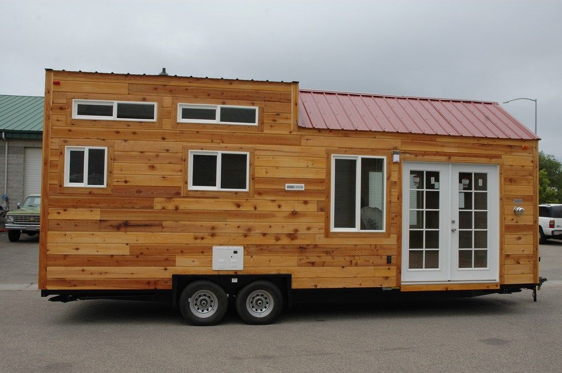 Tiny House On Wheels Two Lofts this tiny house on wheels has about 208 sq. ft. inside and is