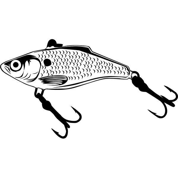 Download Fishing Lure 4 Hook Fisherman Logo 3 Prong Angling Fish Etsy In 2021 Fisherman Logo Fishing Lure Tattoo Bass Fishing Pictures