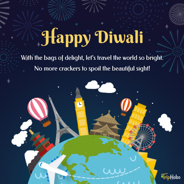 TripHobo Wishes You All A Very Happy Happy Diwali