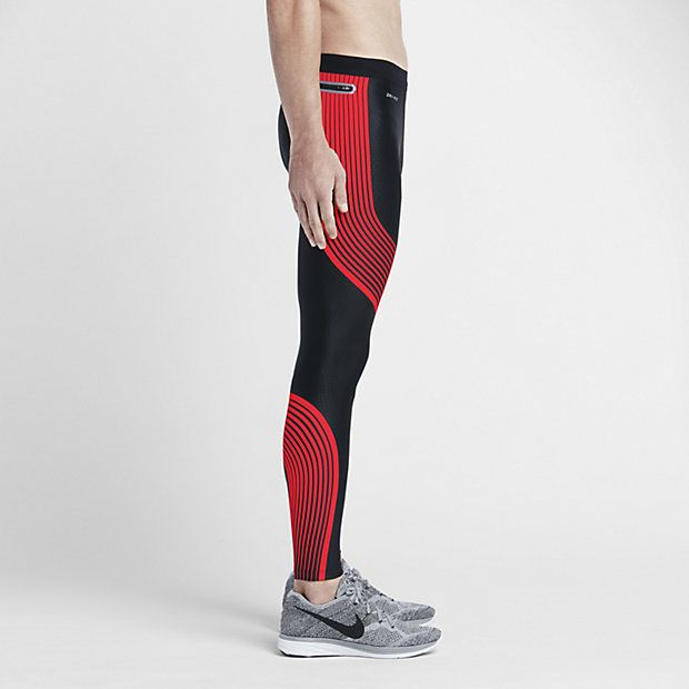 Nike Men's Power Speed Tights | Lightweight Compression Running Tights |  Fleet Feet Sports - Chicago
