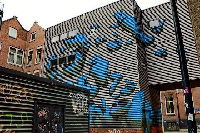 Wall paints, Muurschilderingen, Peintures Murales,Trompe-l'oeil, Graffiti, Murals, Street art.: Rotterdam - Netherlands Daan Botlek.