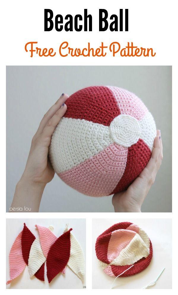 Amigurumi Ball Free Crochet Pattern   Häkeln, Hobby-/bastelraum und ...