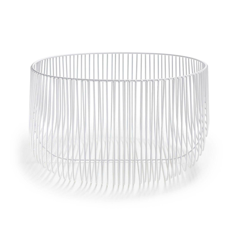 Bend Goods White Wire Basket | Brooklyn | Pinterest | Wire basket