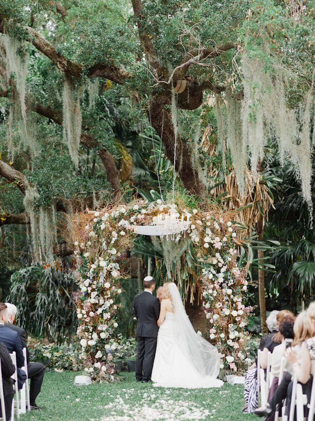 Wedding At The Kampong In Miami Florida
