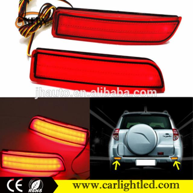 Source Auto 12v Warning Led Rear Brake Light Bumper Reflector Tail