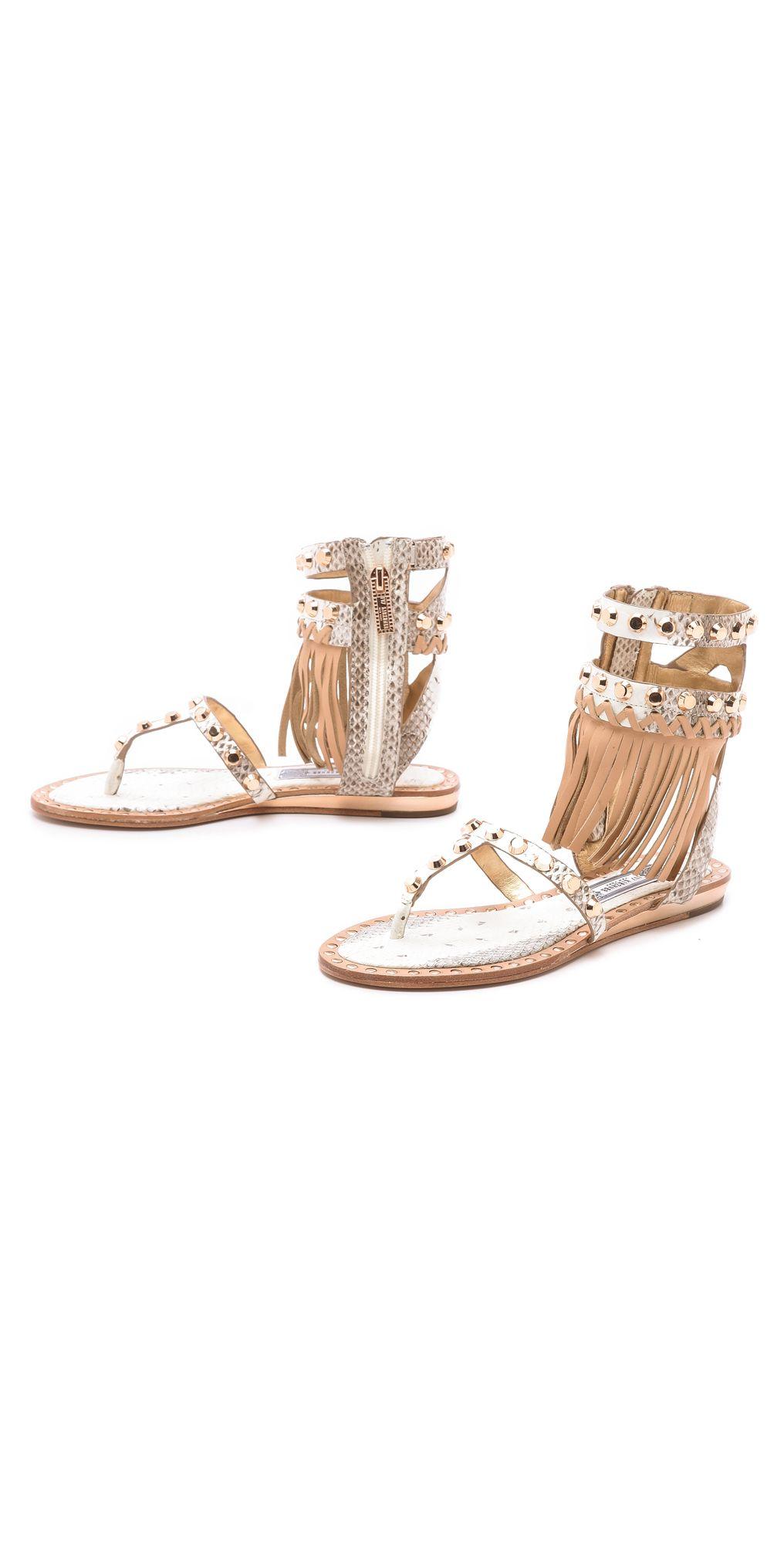 Ivy Kirzhner Barbados Fringe Sandals | SHOPBOP