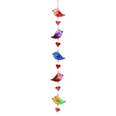 Colourful-Bird-Stained-Glass-Sun-Catcher-Mobile-Beautiful-Window-Hanging