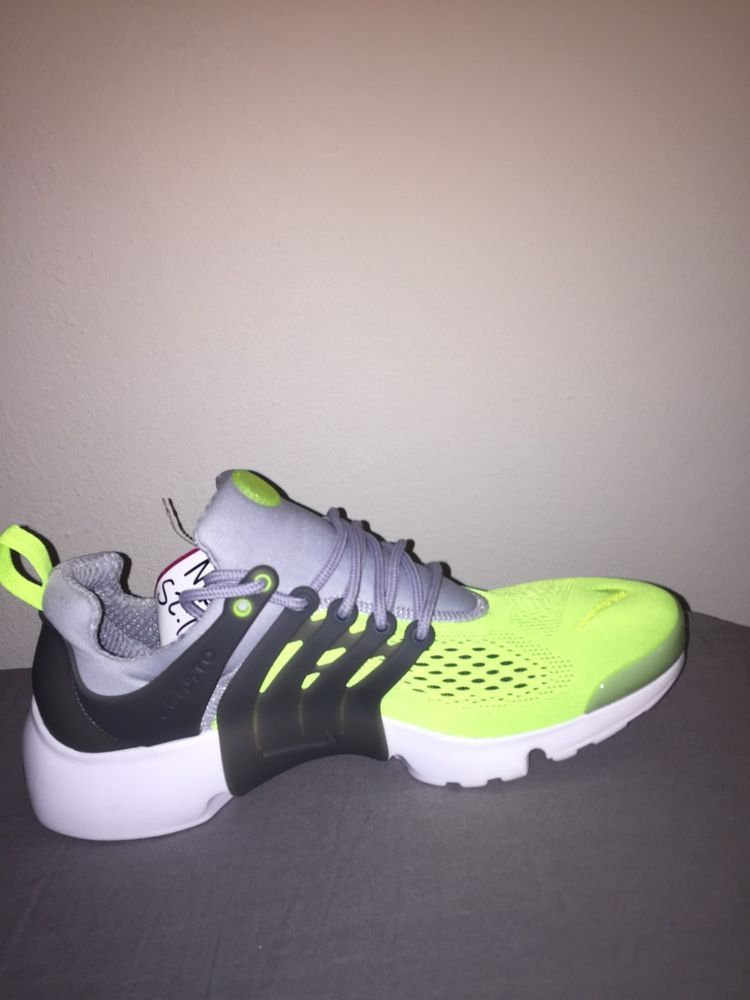 e3eb37388132 Nike Air Presto Ultra Breathe Neon Green and Wolf Gray US size 10 (Men s)   fashion  clothing  shoes  accessories  mensshoes  athleticshoes (ebay link)