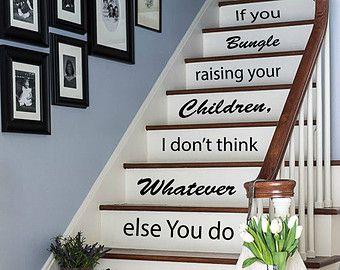 stair riser decal – Etsy