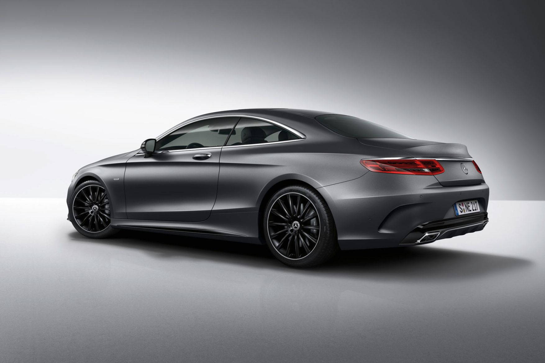 The Mercedes Benz S Class Coupe Gets Fitted For The Night With