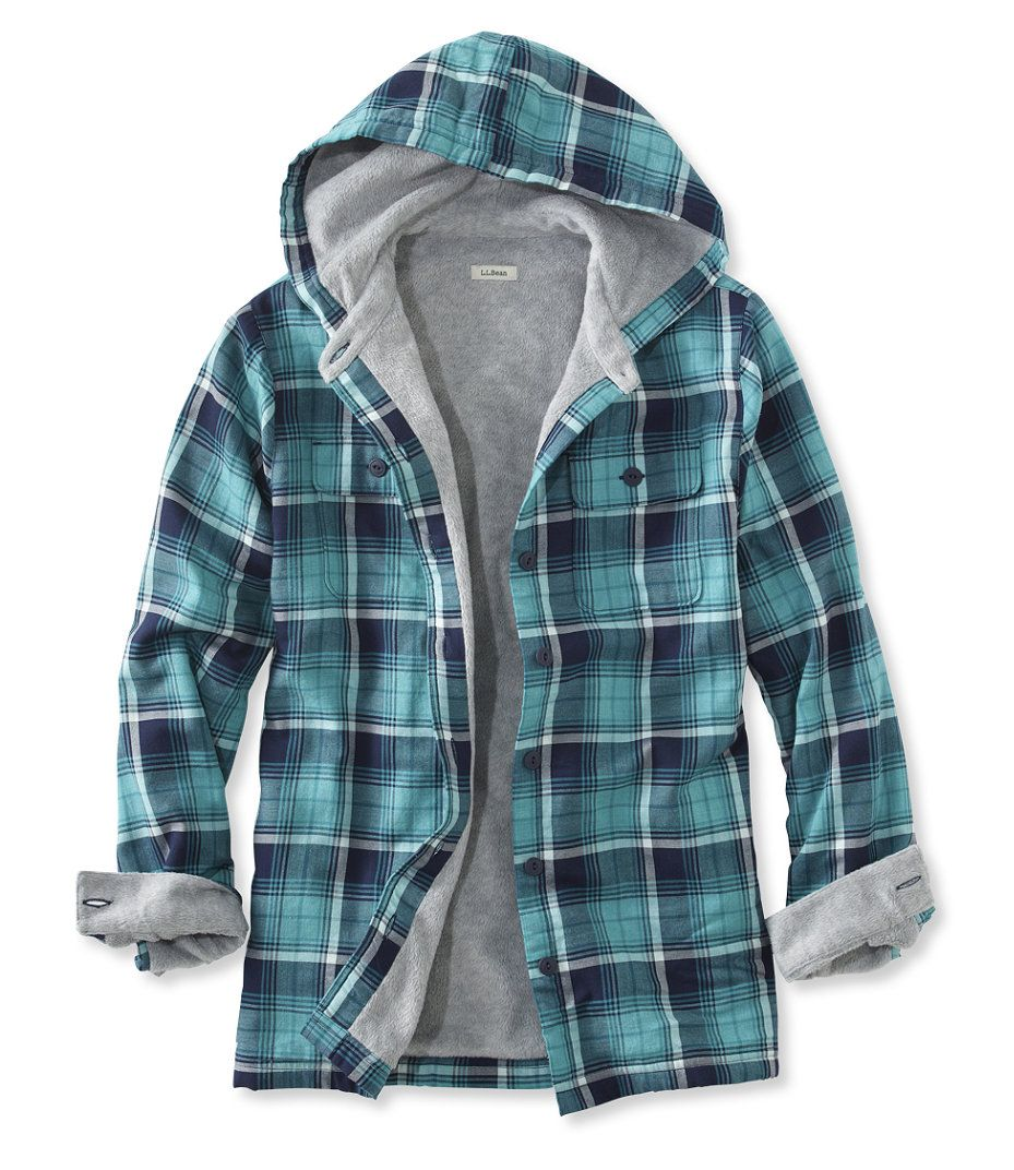 Fleece Lined Flannel Plaid Hoodie Plaid Hoodie Plaid Shirt Outfits Flannel Outfits [ 1072 x 929 Pixel ]