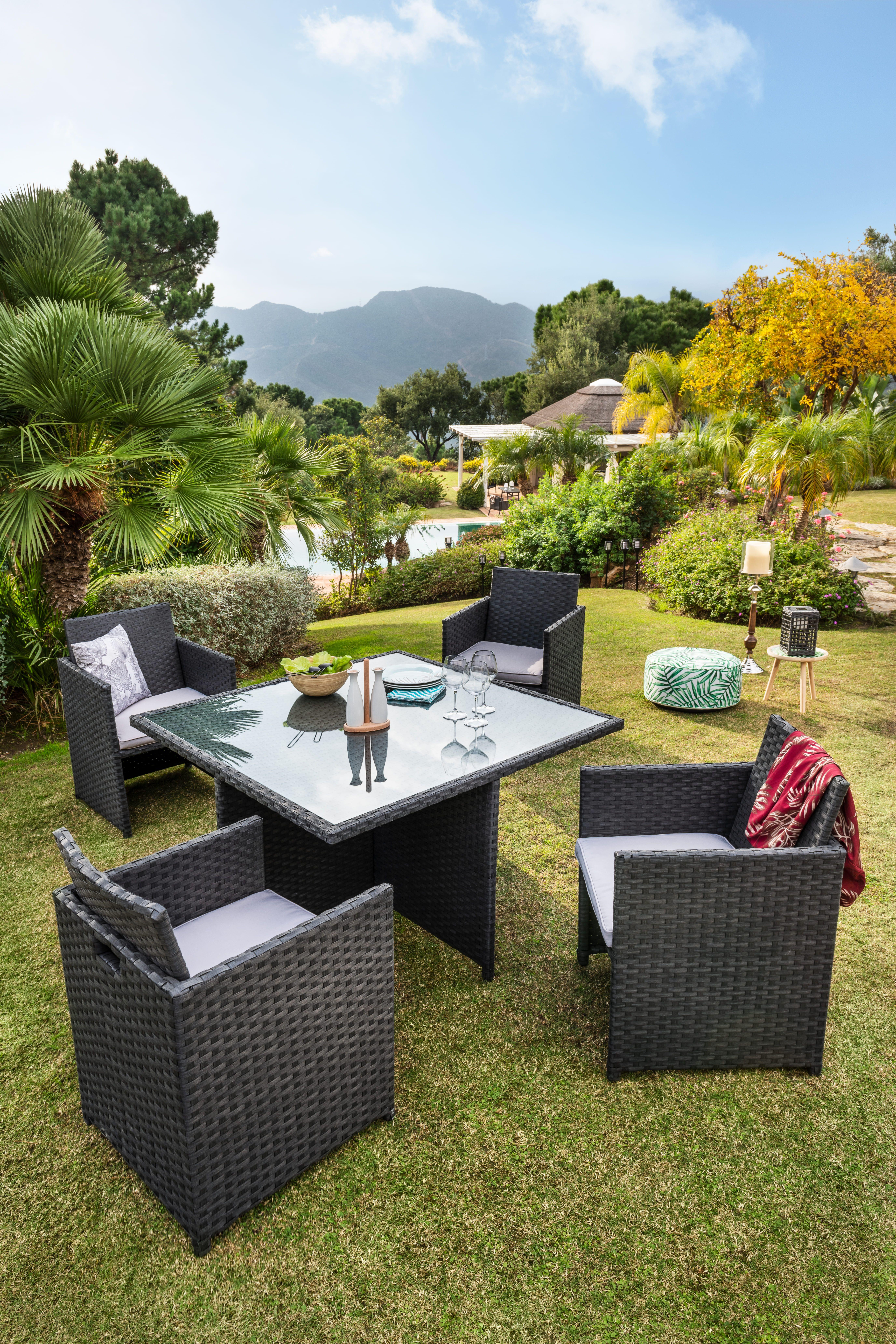 Mobilier De Jardin Pas Cher Gifi Salon De Jardin Decoration Exterieur Mobilier Jardin