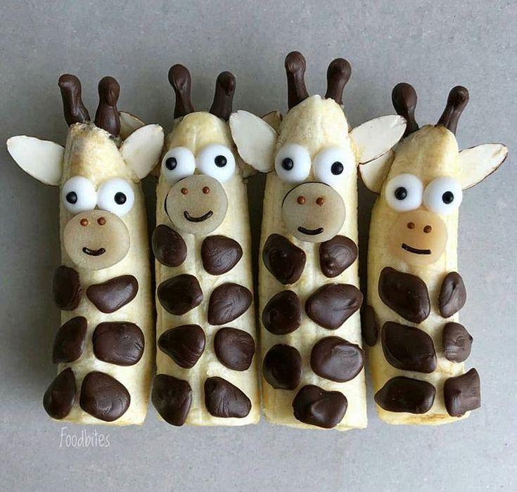 Giraffe bananas #festmad