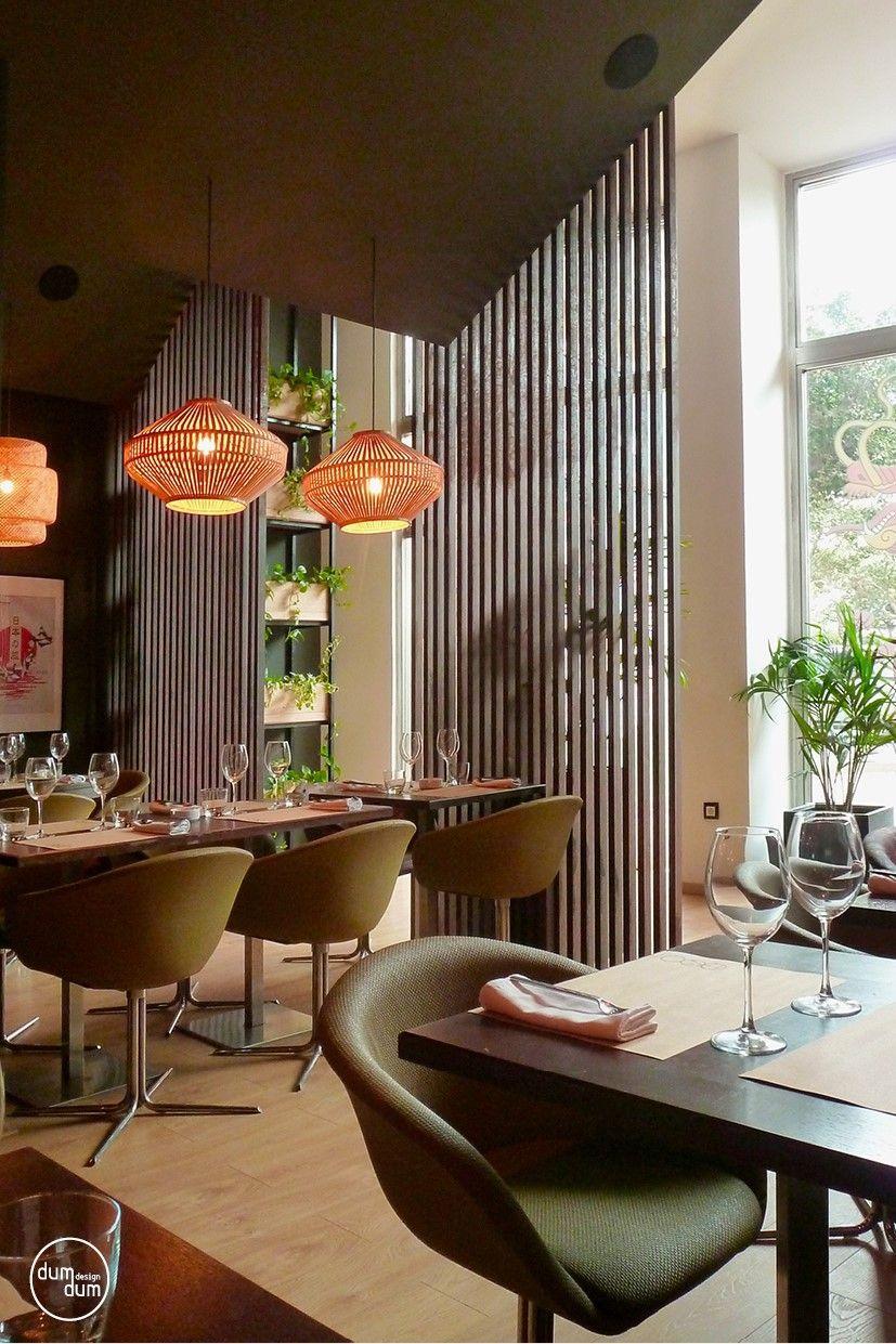 Tao Restaurant At Casablanca Concept By Dumdum Design Asian  # Bois Naturel Table Casablanca
