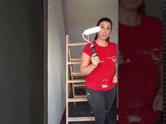 Aprende con Ana: Pintar paredes con gotele.