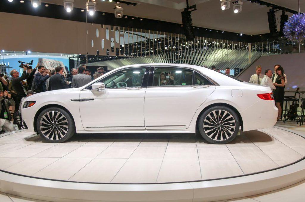 2017 Lincoln Continental White Auto Show Launch Lincoln Continental Lincoln Luxury Cars