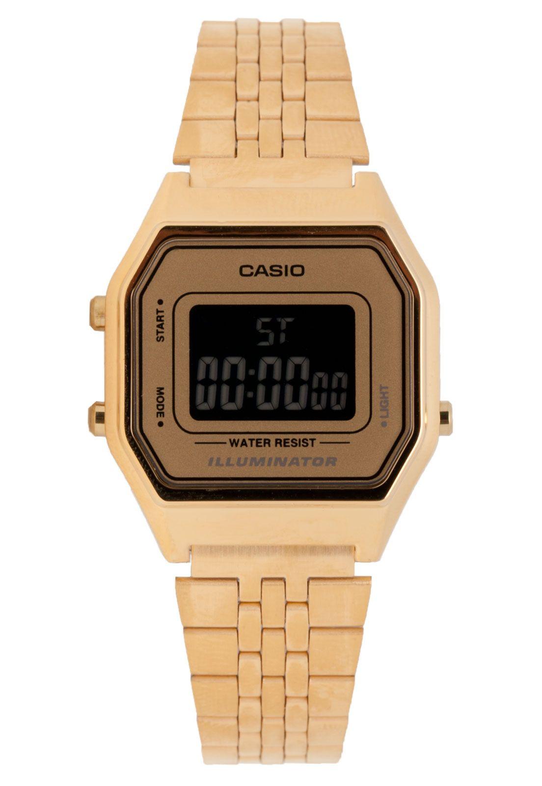 c0db2742361 Relógio Casio LA680WGA9BDF Dourado - Compre Agora