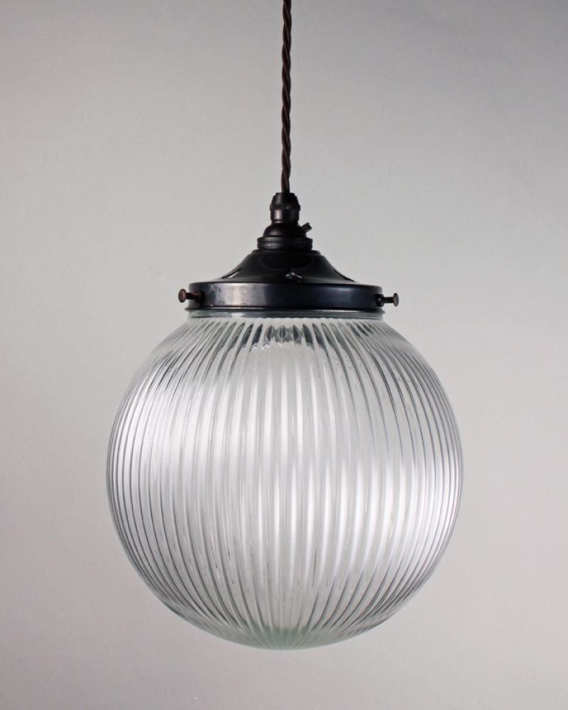 Goodrich prismatic globe pendant light xl option 305mm light goodrich prismatic globe pendant light 70 or diff fittings and flexes available 70 or 90 arubaitofo Gallery