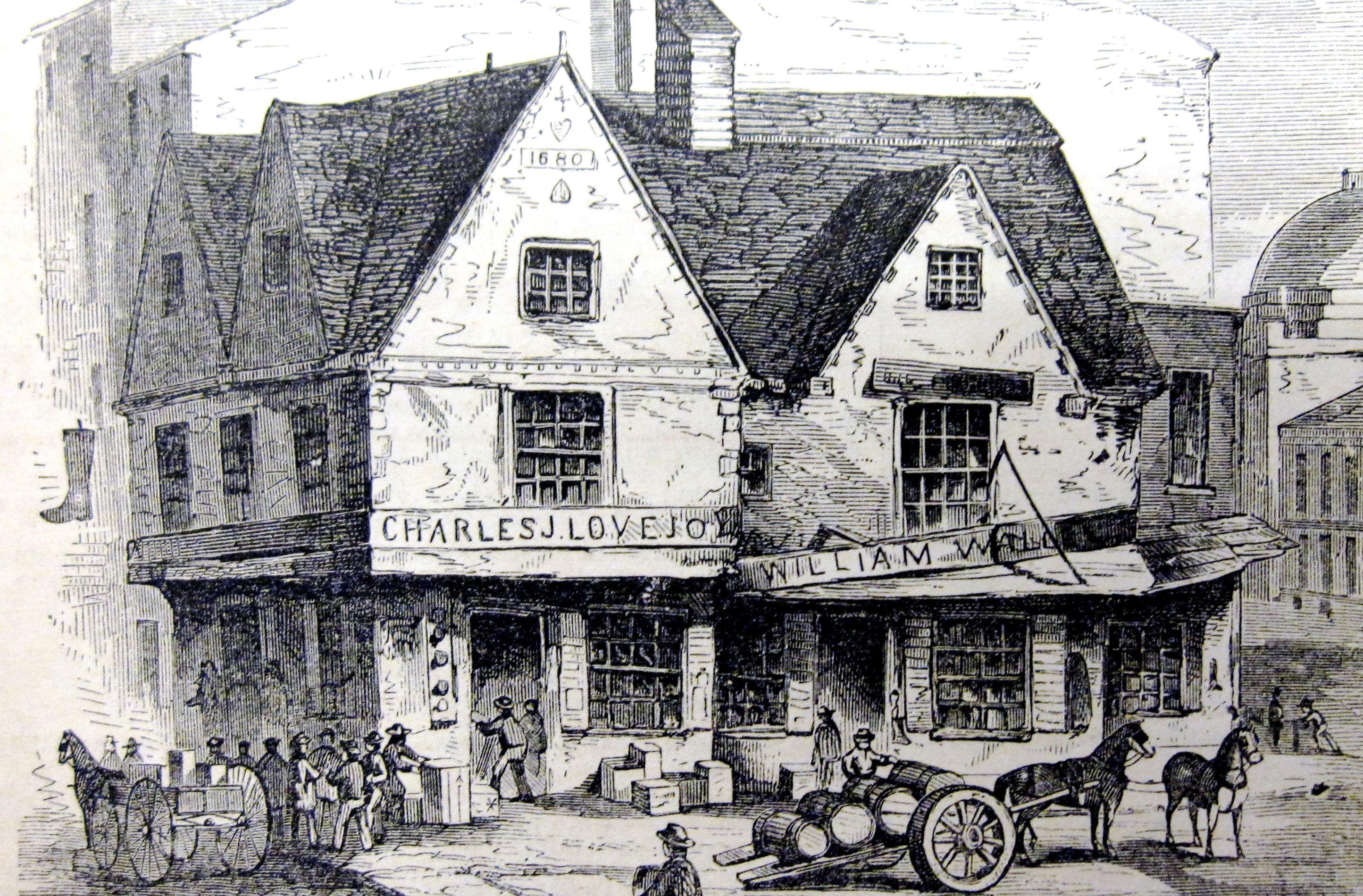Boston Massachusetts Colonial History
