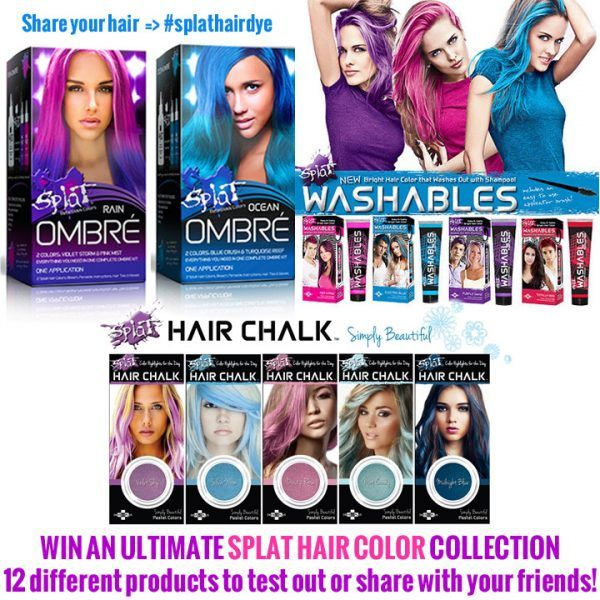 Splat Hair Dye Splat Hair Color Kits For All That Are Interested In