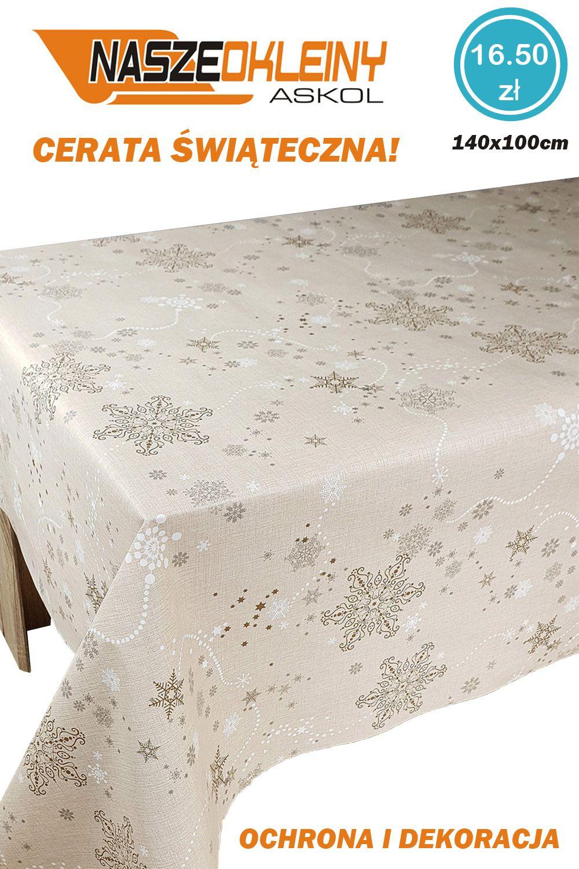 Cerata Obrus Stol Swieta Swiateczna 140x10 Ca402 7600349938 Oficjalne Archiwum Allegro Home Decor Decor Furniture