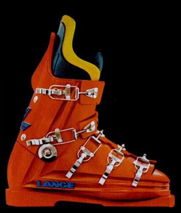 One Of The Best Looking Boots Ever Skiing Dec 1973