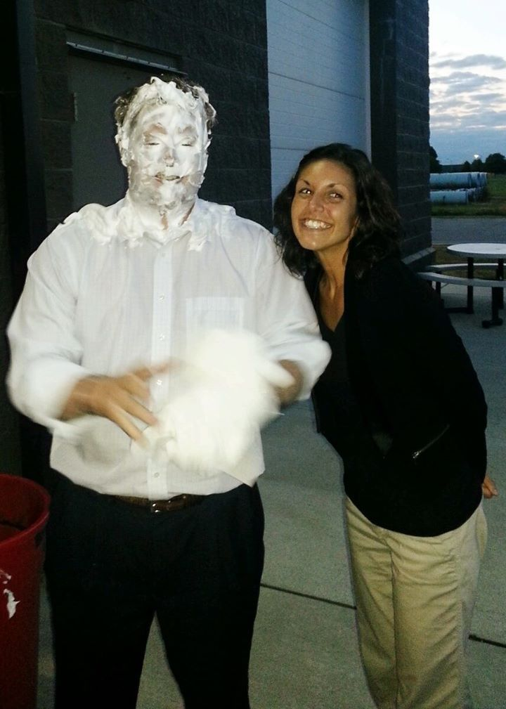 #Breakarecord, #PietheManager. Congrats to Kristen for breaking a record and that $200 bonus!! #raseri #ricklovespie