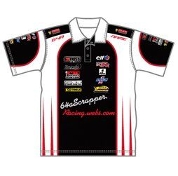 Race Team Polo Shirts Design Your Own Sublimated Team