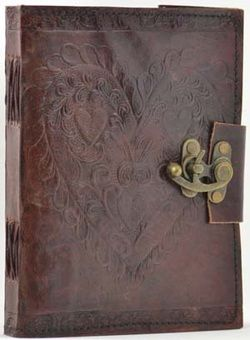 Leather bound Journals;http://www.fairydusttarotandtrinkets.com/leather-bound-journals.html