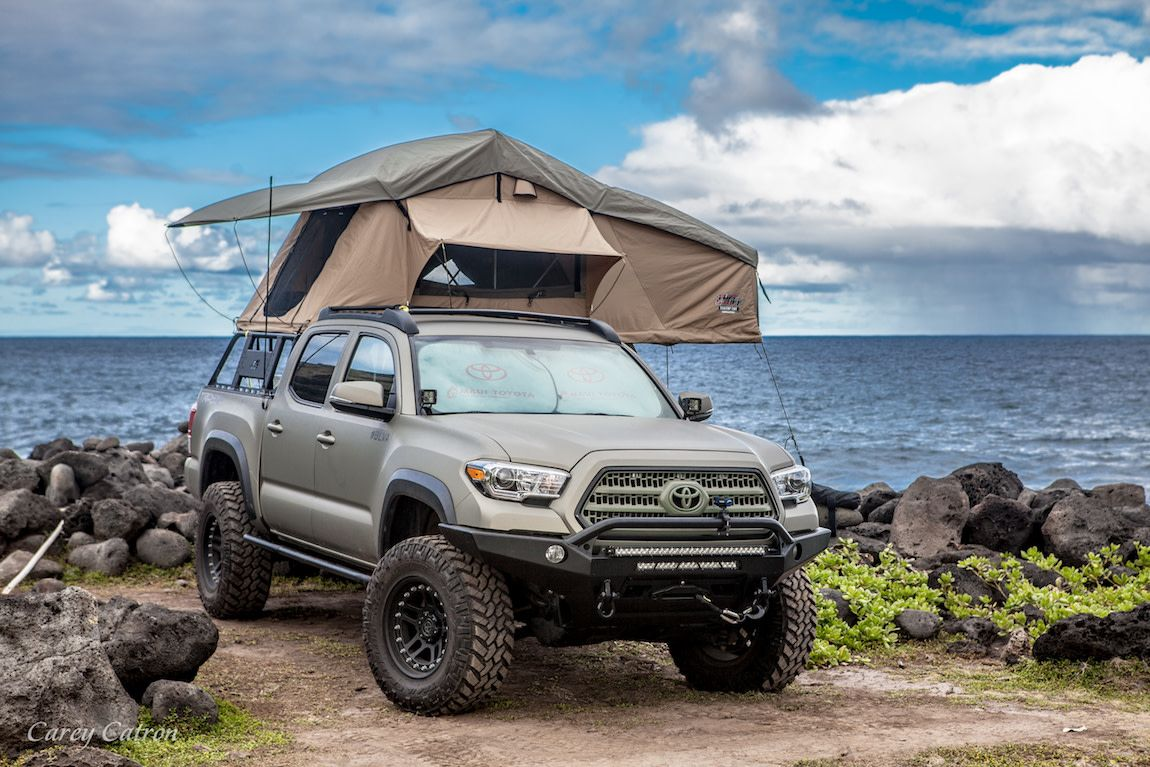 Toyota Camping Guide Roof Top Tent vs. Overland