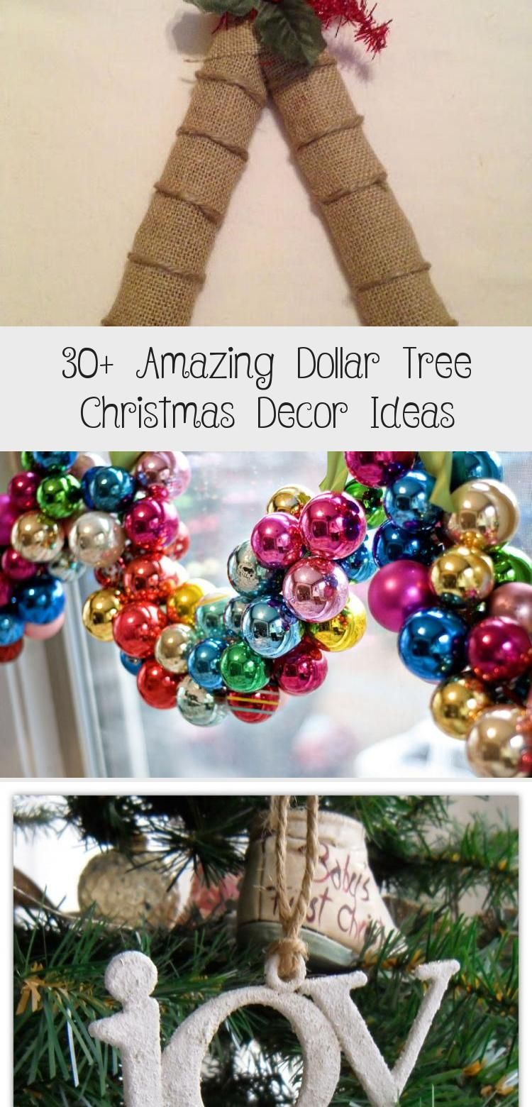 30+ Amazing Dollar Tree Christmas Decor Ideas Home Decor