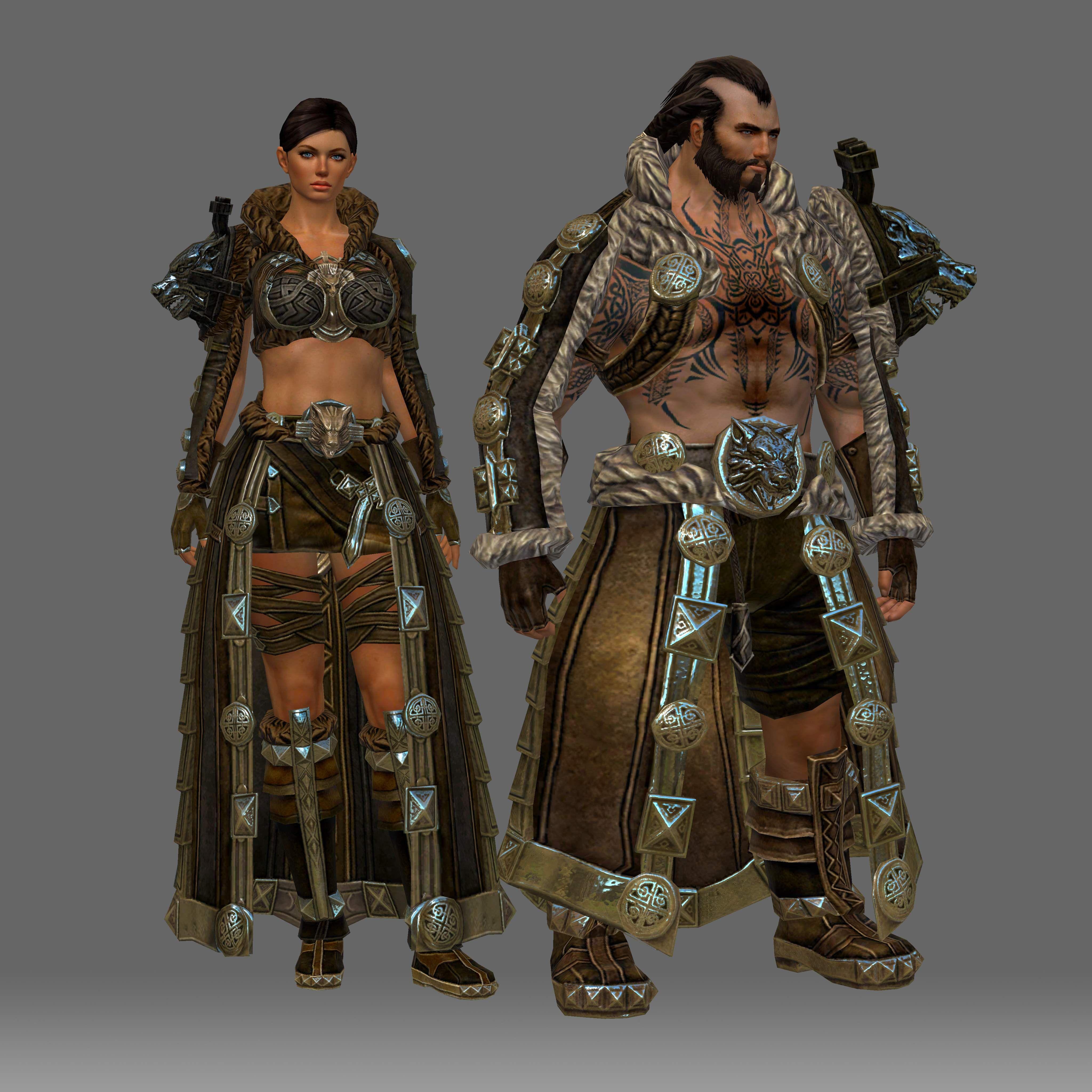 Guild wars 2 norn ranger armor
