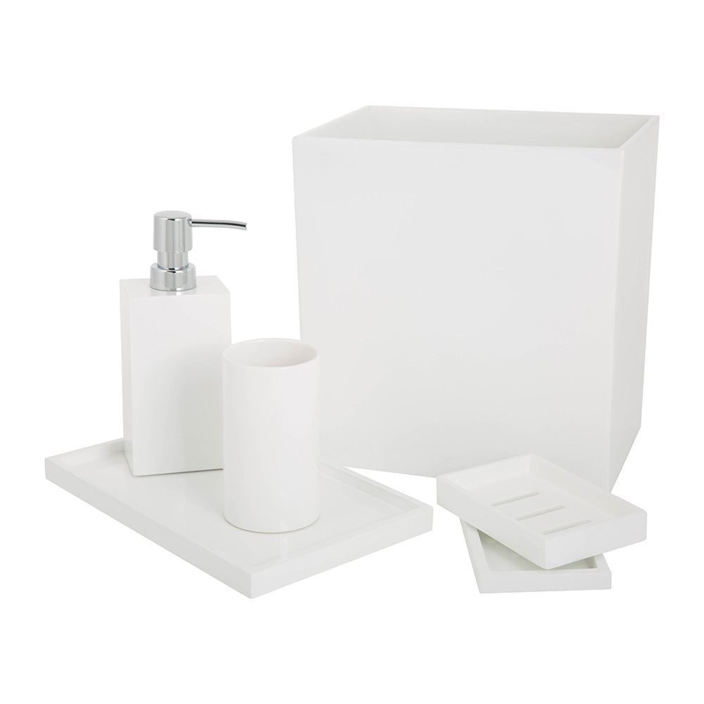 Lacquer Bathroom Accessory Set | boy bathroom | Pinterest | Bathroom ...