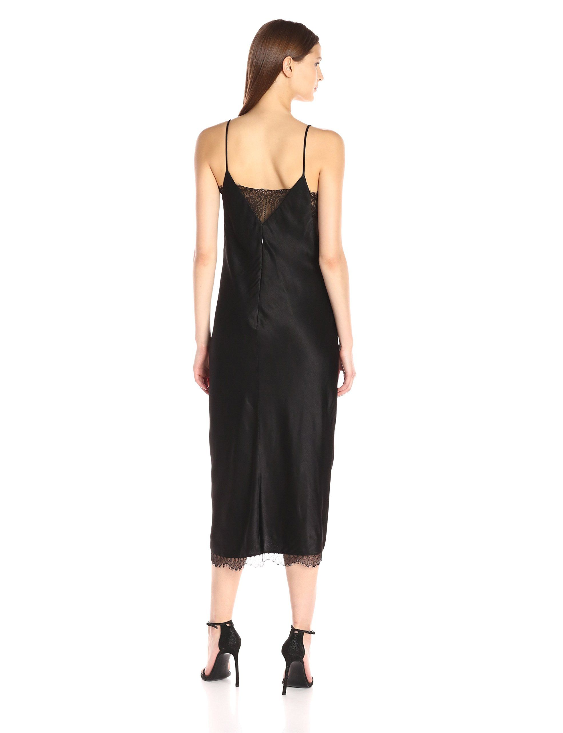 9ccbb5337dd ABS Allen Schwartz Womens TLength Lingerie Satin Slip Gown Black XSmall      Learn more by visiting the image link. (This is an affiliate link)   ...